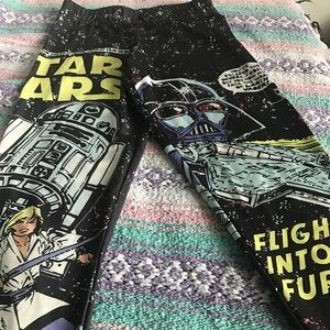 Star Wars Mighty Fine Leggings Small